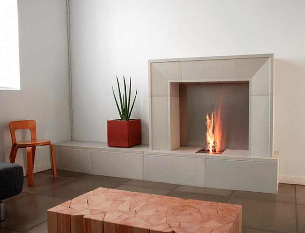 Some ideas of contemporary fireplace surrounds decor Fireplace surround ideas