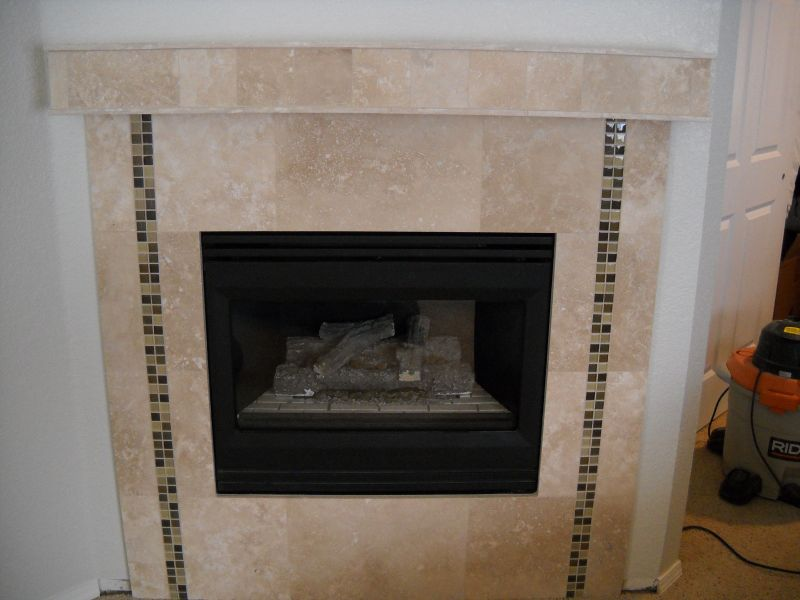 Tile Fireplace And Fireplace Surrounds Fireplace Tile Surround Designs