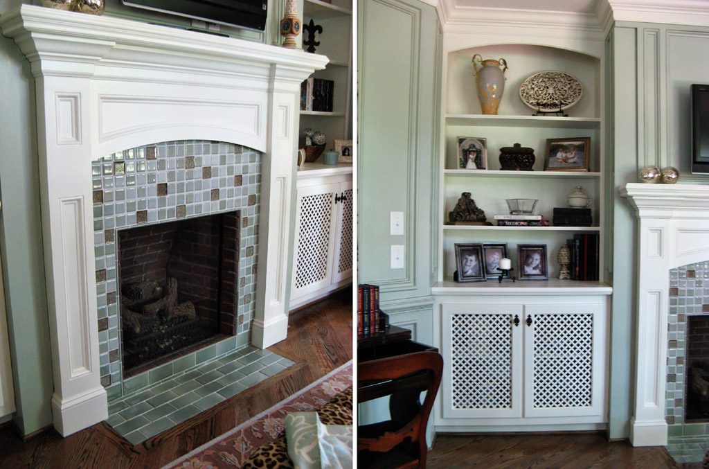 Installing fireplace tile surround can be messy do it for Stylish options for fireplace tile ideas