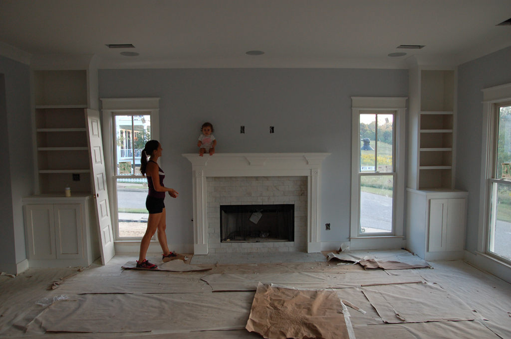 Fireplace Tile Surround