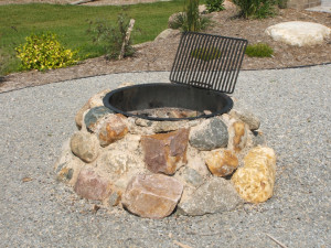 Flagstone Fire Pit Designs