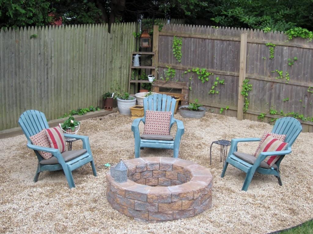 Flagstone Fire Pit DIY