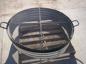 Galvanized Steel Ring for Fire Pit