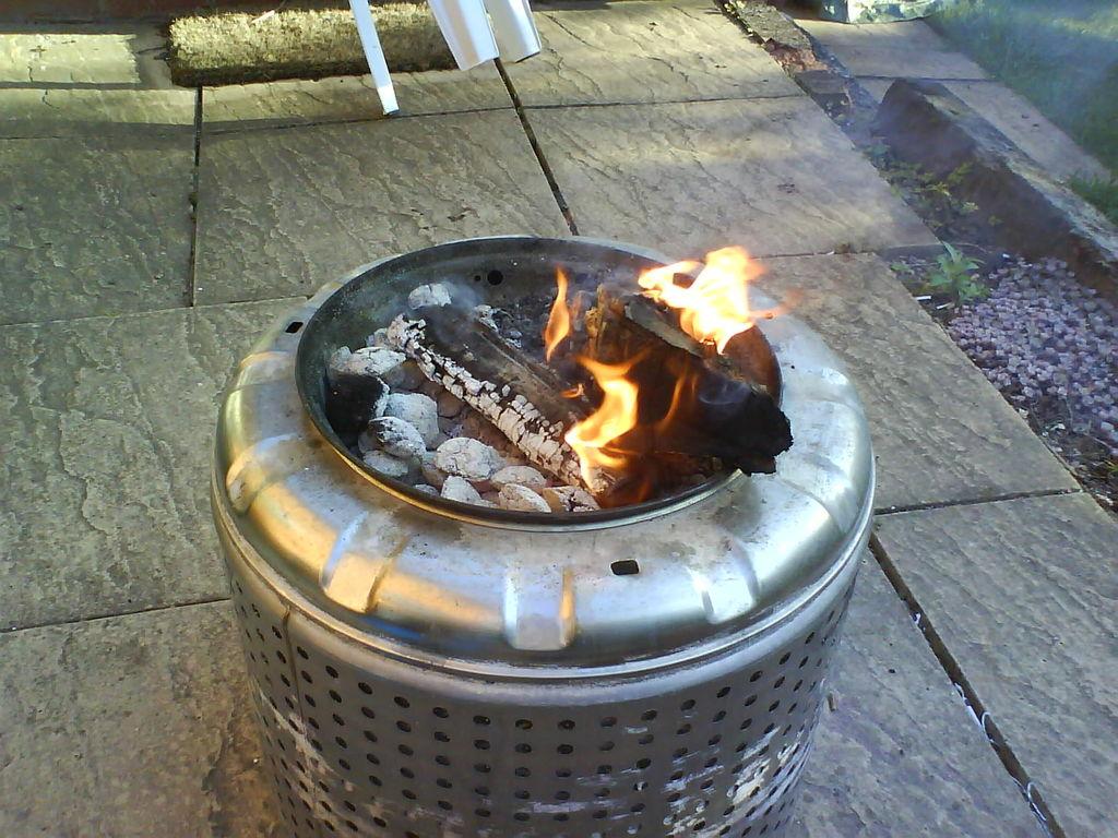 Gas Fire Pit DIY