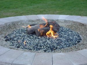 Gas Fire Pit Glass Rocks