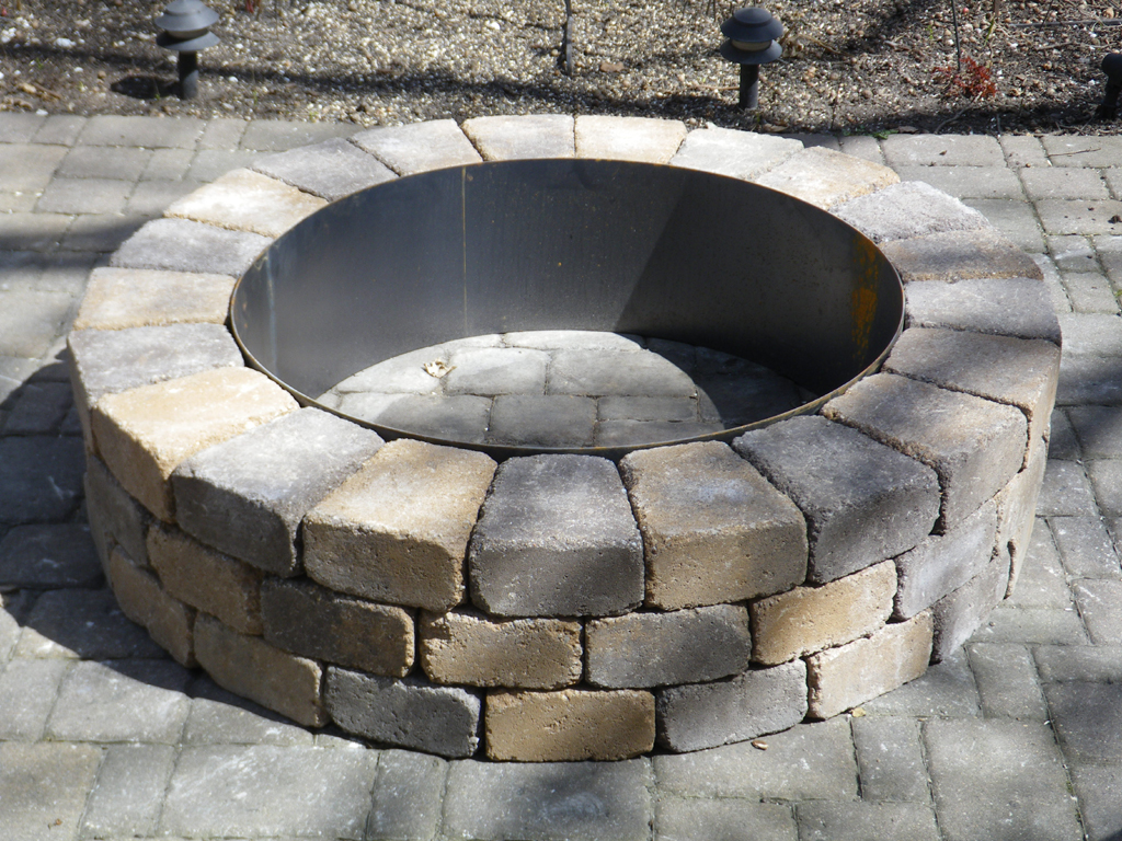 Gas Fire Pit Ring Insert Fireplace Design Ideas