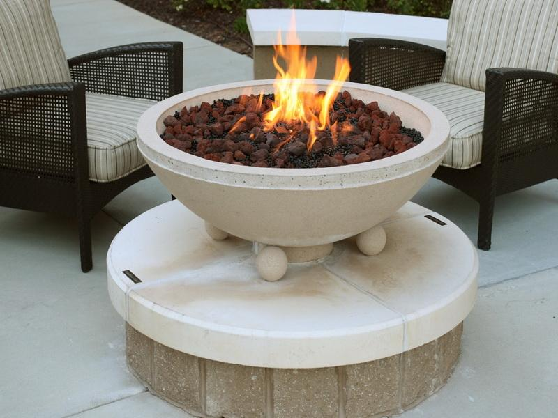 Gas Fire Pit Stones