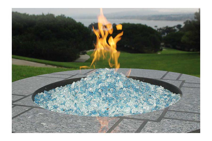 how to build a fire pit with river rocks