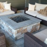 Glass Fire Pit Stones