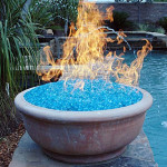 Glass for Gas Fire Pit