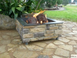 How to Build a Brick Fire Pit with Gas