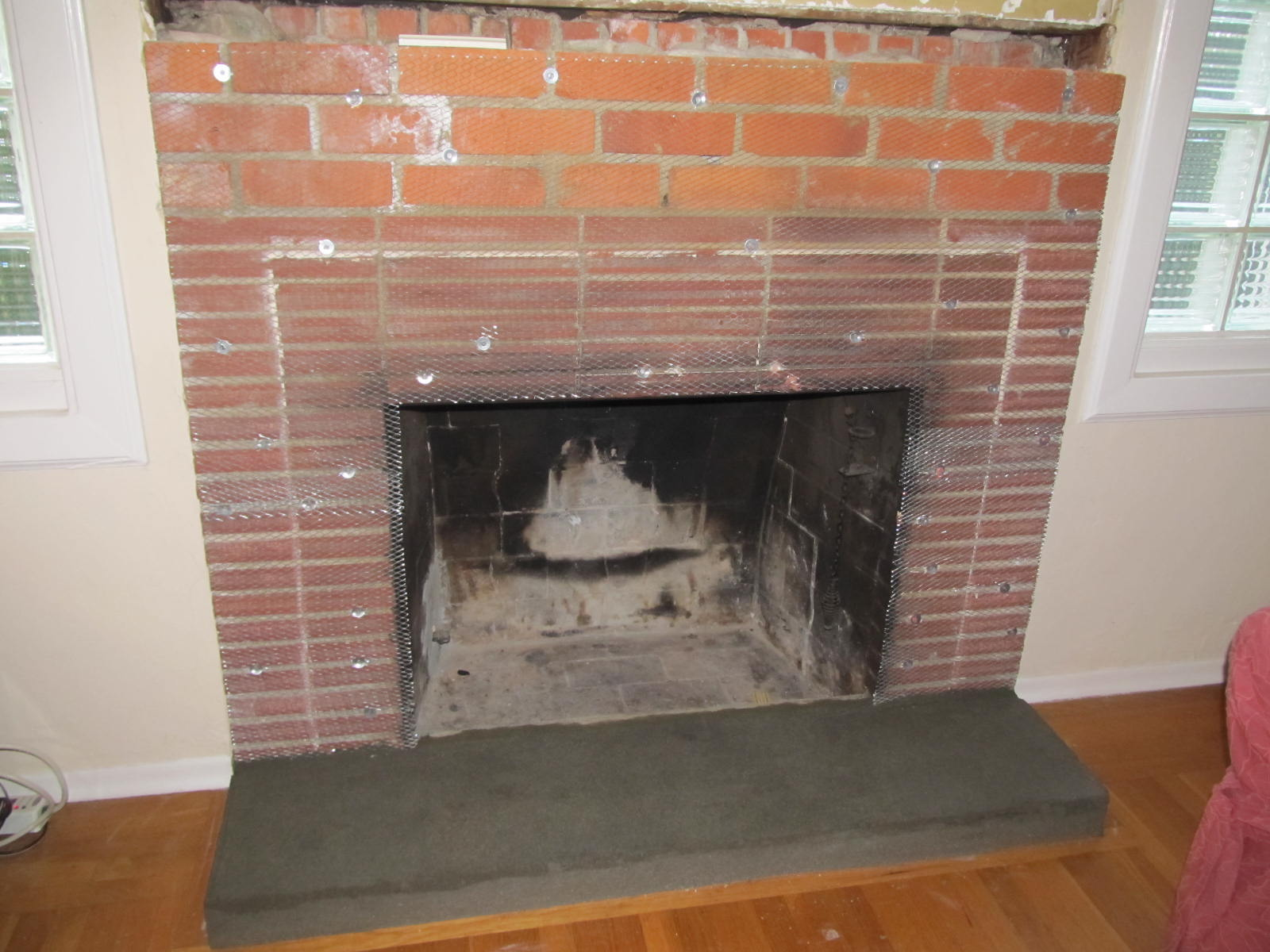 How to build a brick fireplace surround fireplace design ideas - Build contemporary fireplace ideas ...