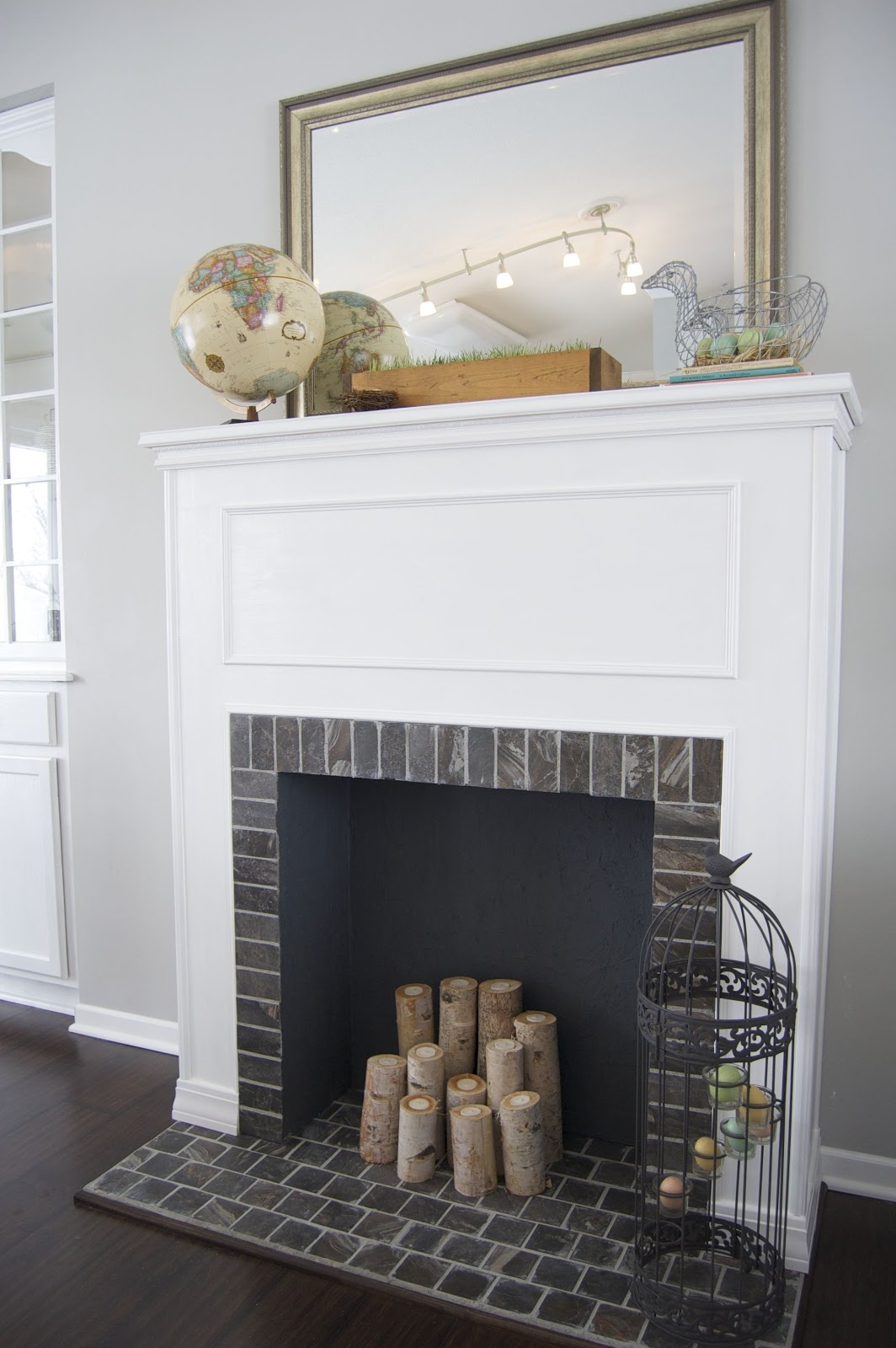 How to Build a Faux Fireplace Surround