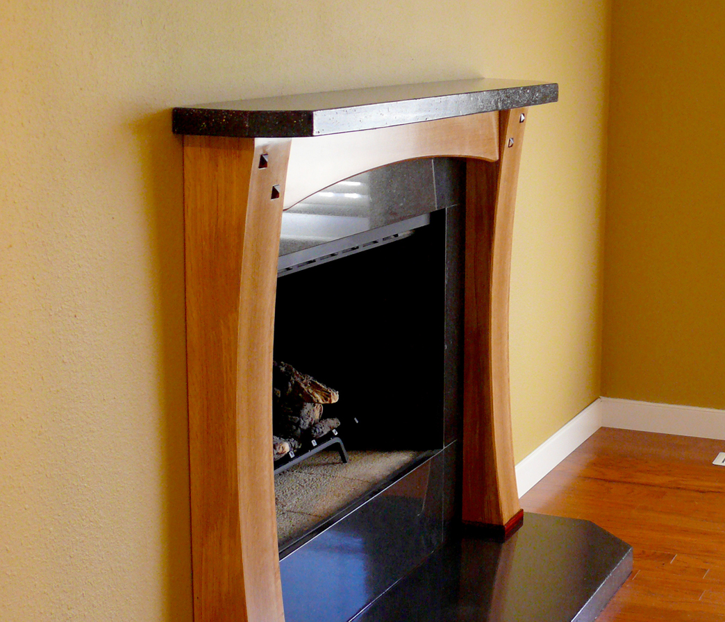 How to Build a Fireplace Surround for a Gas Fireplace