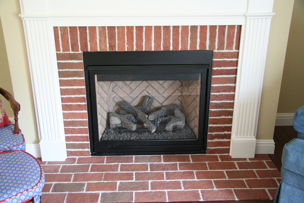 how to build surround for electric fireplace