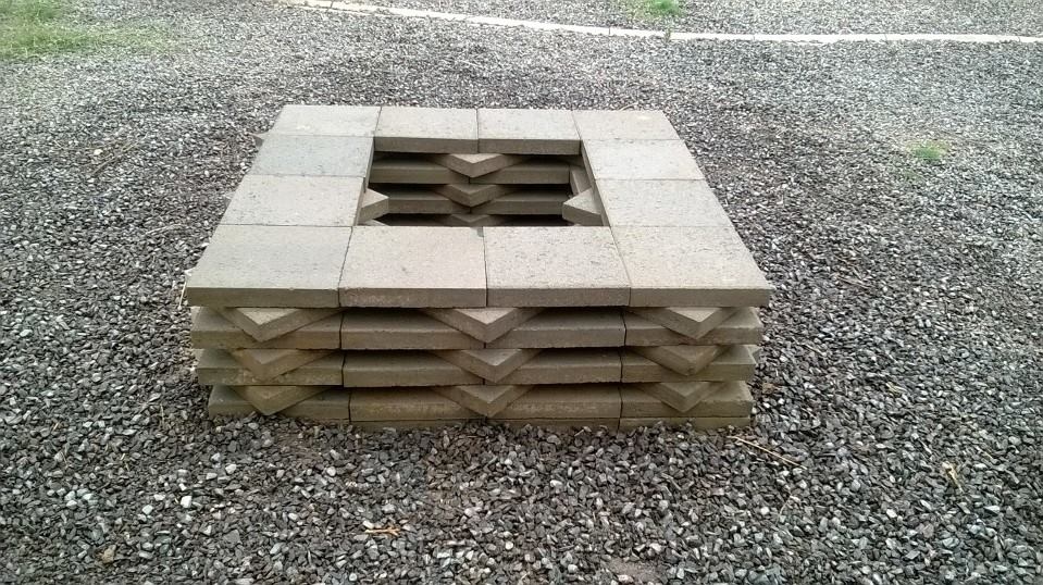 How To Build A Paver Fire Pit Fireplace Design Ideas