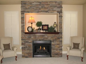 How to Build a Stone Fireplace Surround