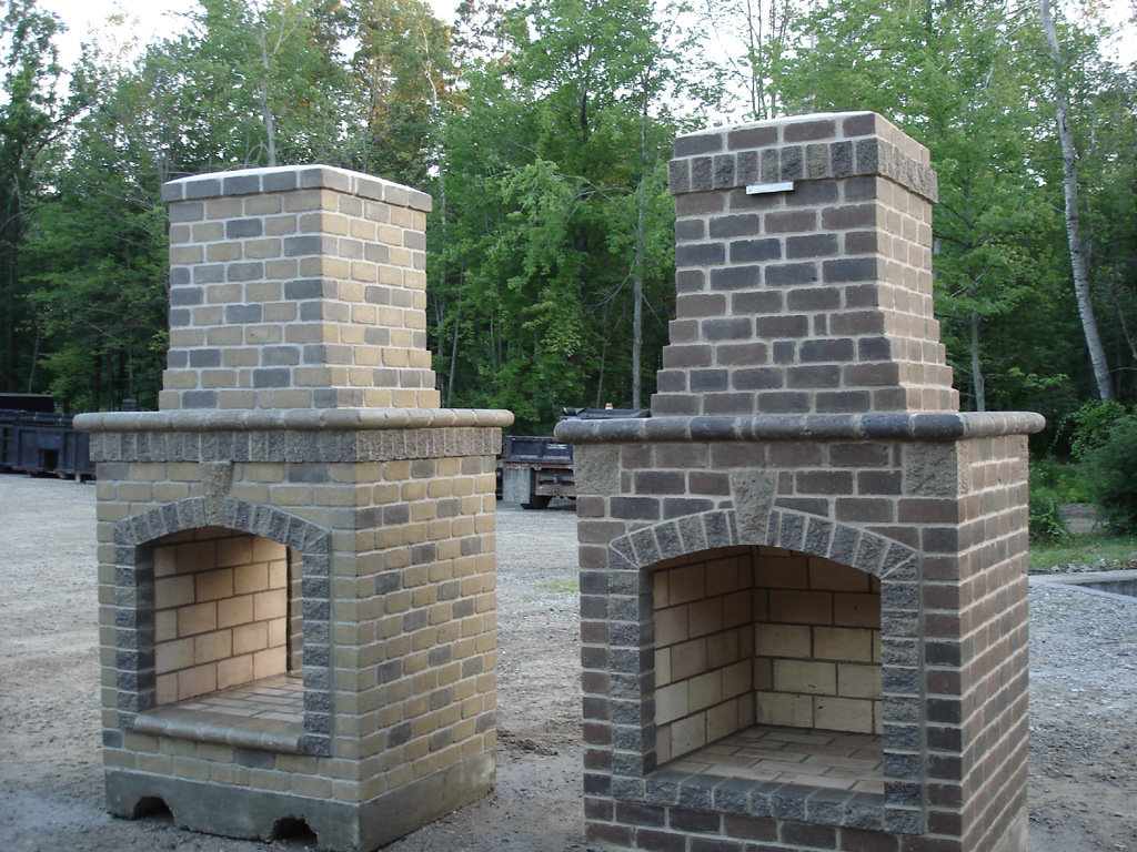 how to build an outdoor brick fireplace fireplace design