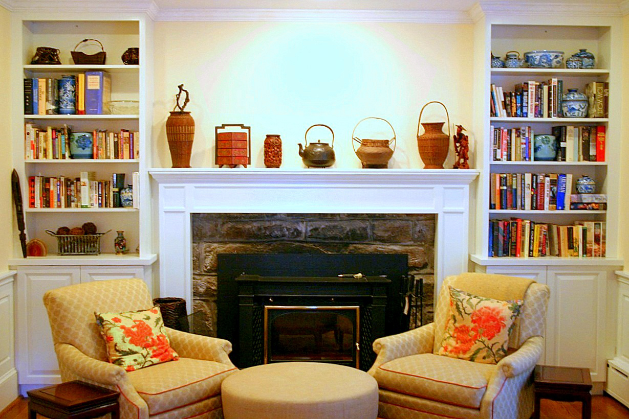 How To Decorate A Corner Fireplace Mantel