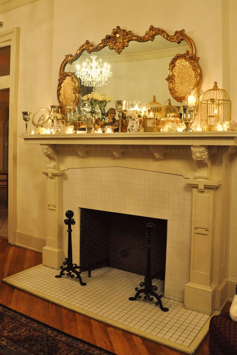 Ideas for decorating fireplace mantel good mantel decor Cool mantel ideas