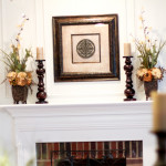 How to Decorate a Fireplace Without Mantle