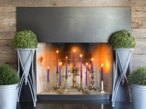 How to Decorate a Non Working Fireplace