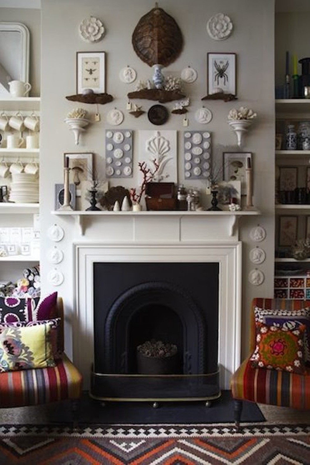 How to Decorate Above a Fireplace