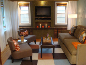 How to arrange furniture in small living room