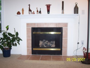 How to Make a Fake Fireplace