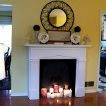 How to Make a Fake Fireplace Mantel
