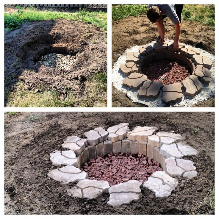 How To Make A Fire Pit In The Ground Fireplace Design Ideas