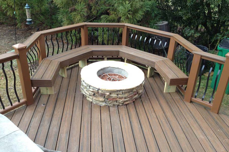Make a fire pit at home by some simple methods fireplace for How to make a pallet fire pit table