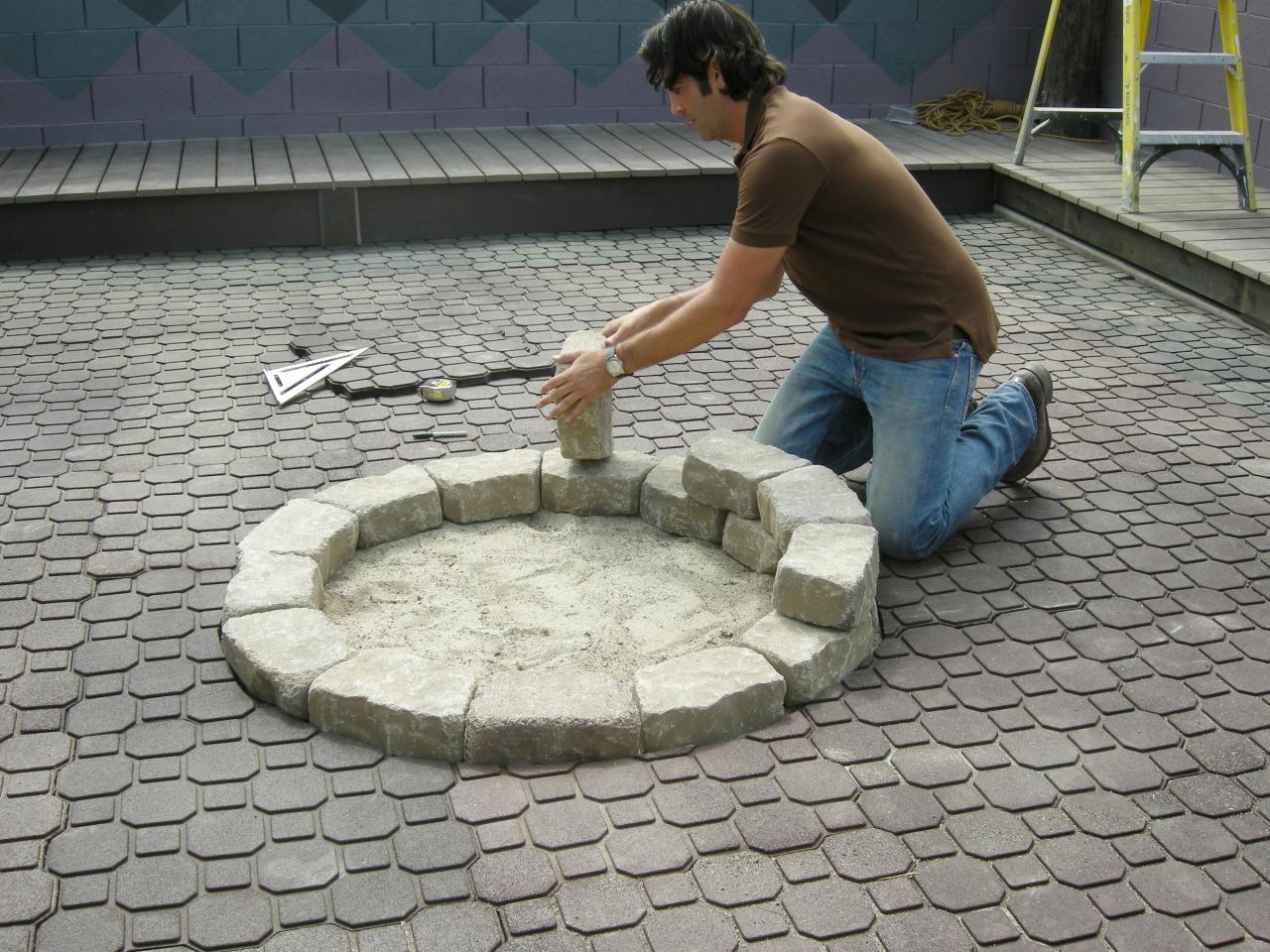 how to make a homemade fire pit fireplace design ideas