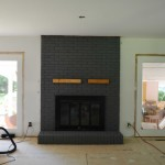 How to Makeover a Brick Fireplace