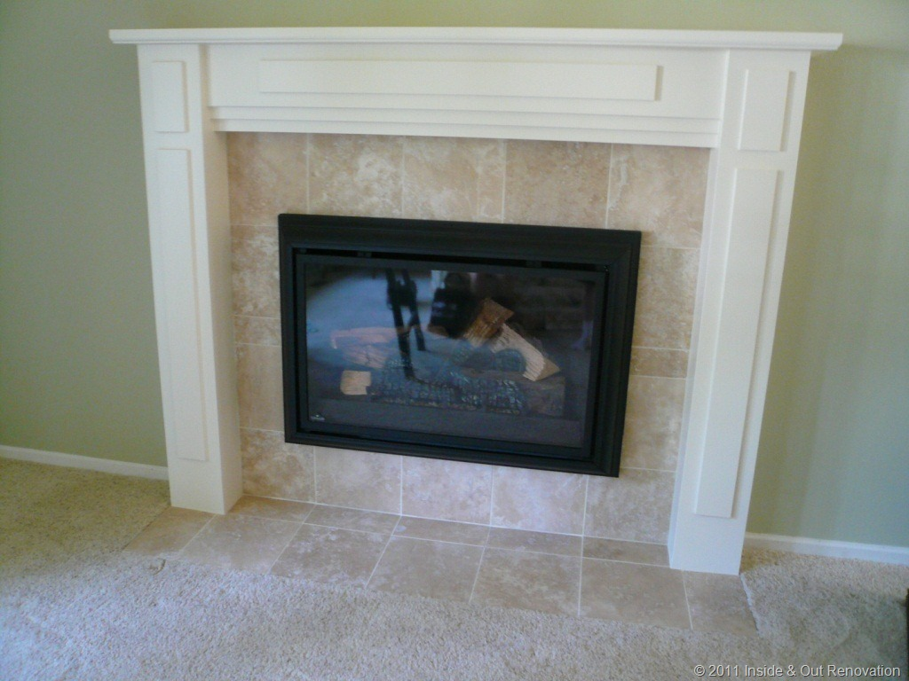 How To Remodel A Brick Fireplace Fireplace Design Ideas