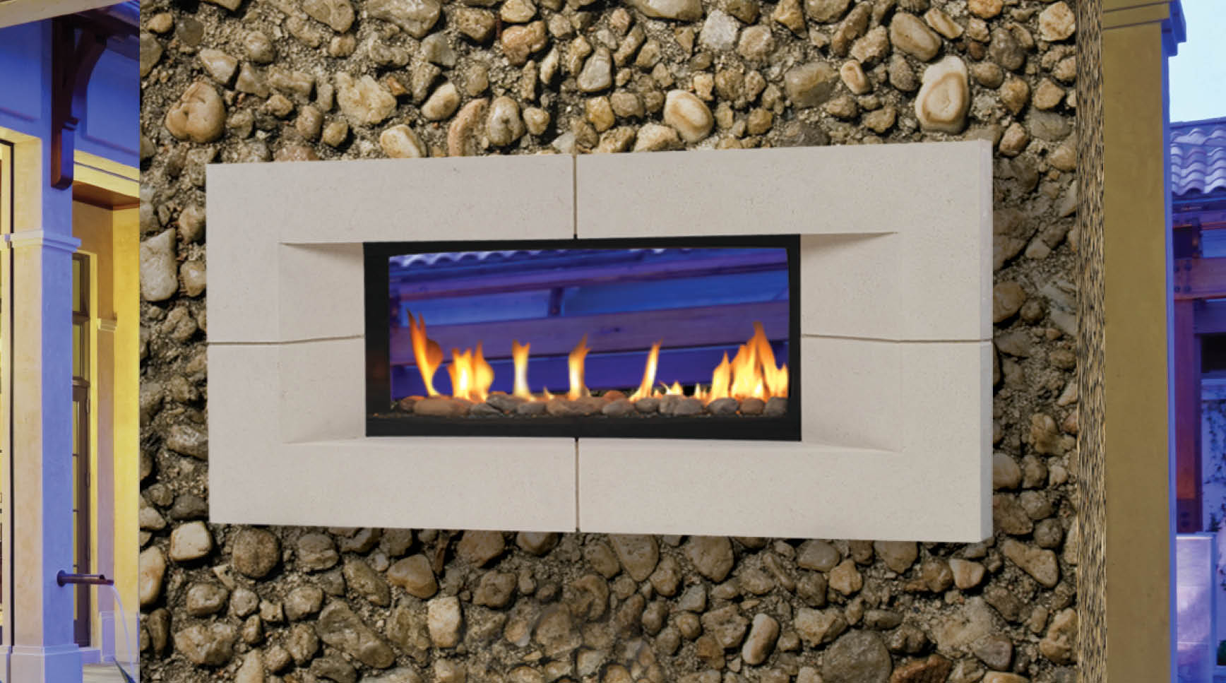 Indoor Outdoor Electric Fireplace