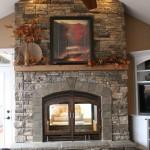 Indoor Outdoor Fireplace Design