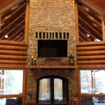 Indoor Outdoor Fireplace Wood