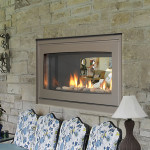 Indoor Outdoor Fireplace Double Sided Fireplace Design Ideas