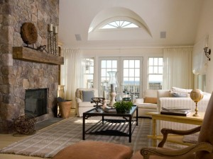 Living Room Ideas with a Fireplace