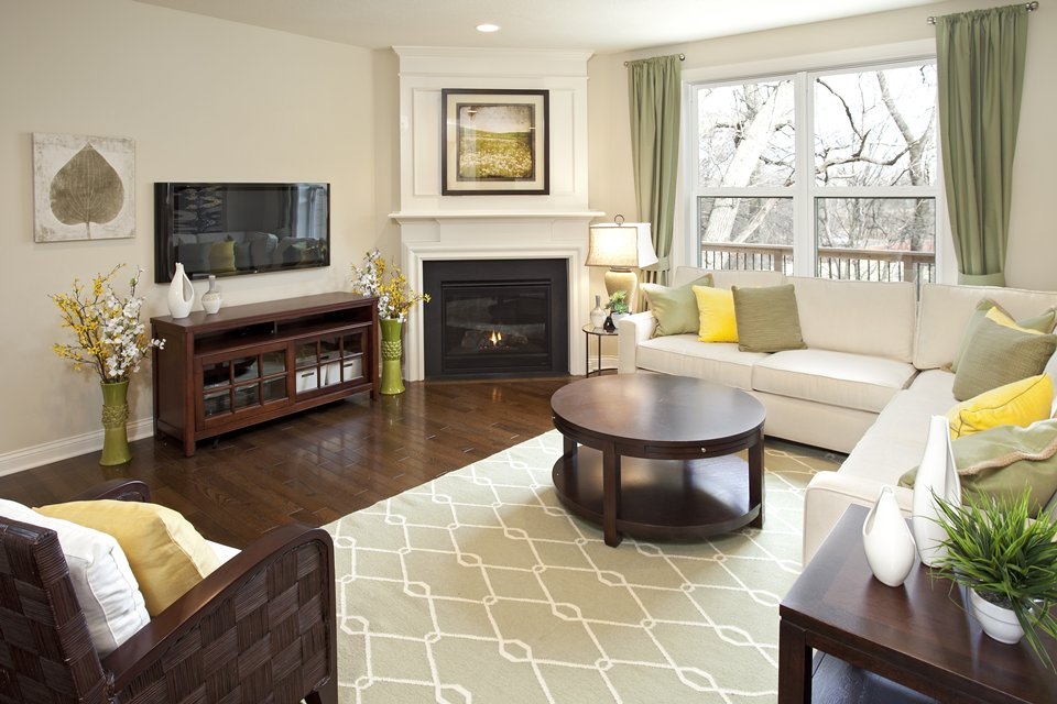Living room ideas with corner fireplace fireplace design ideas for Living room with corner fireplace