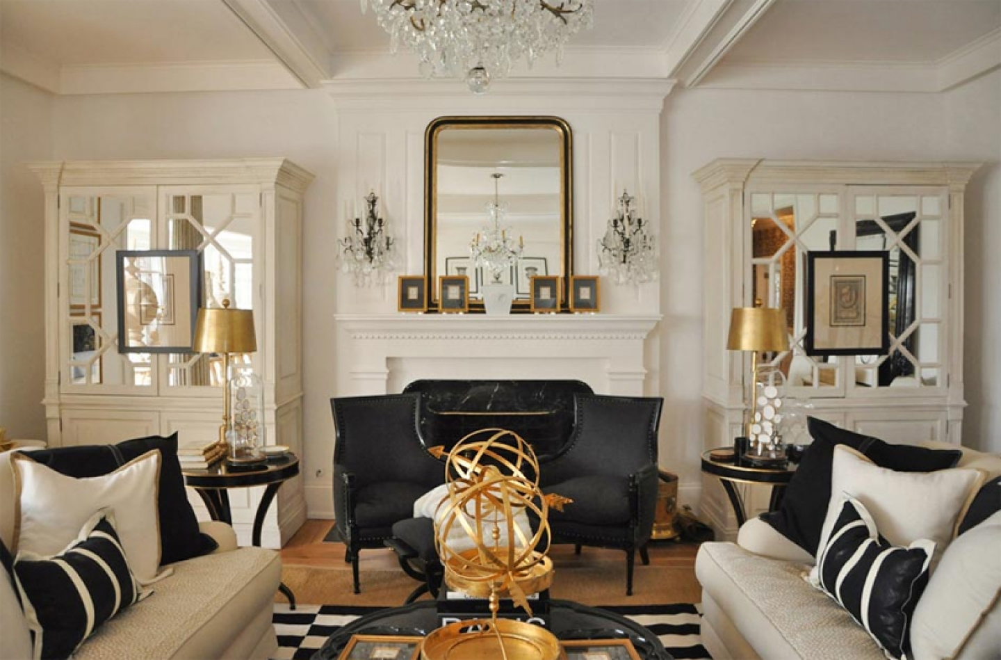 Best How To Decorate A Living Room With A Fireplace Contemporary ...