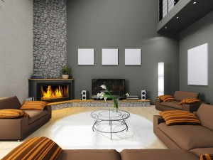 Living Room with Fireplace Ideas