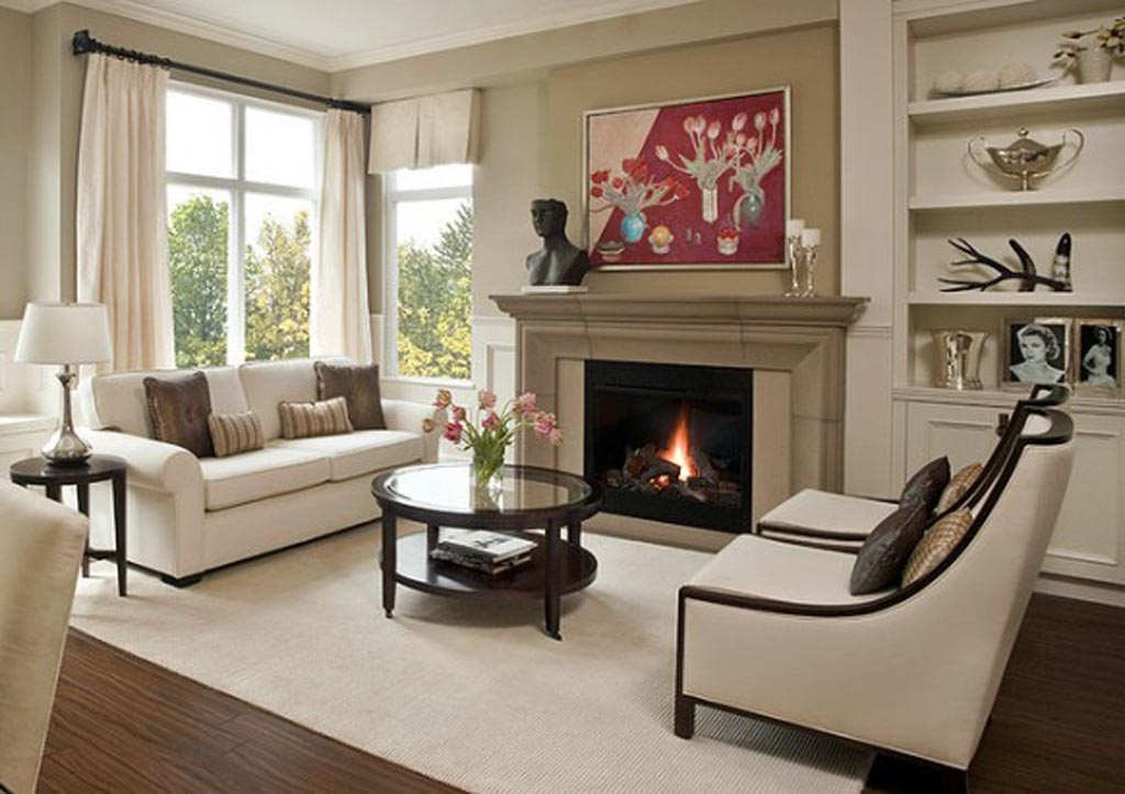 Living Room With Fireplace Layout Ideas | FIREPLACE DESIGN IDEAS