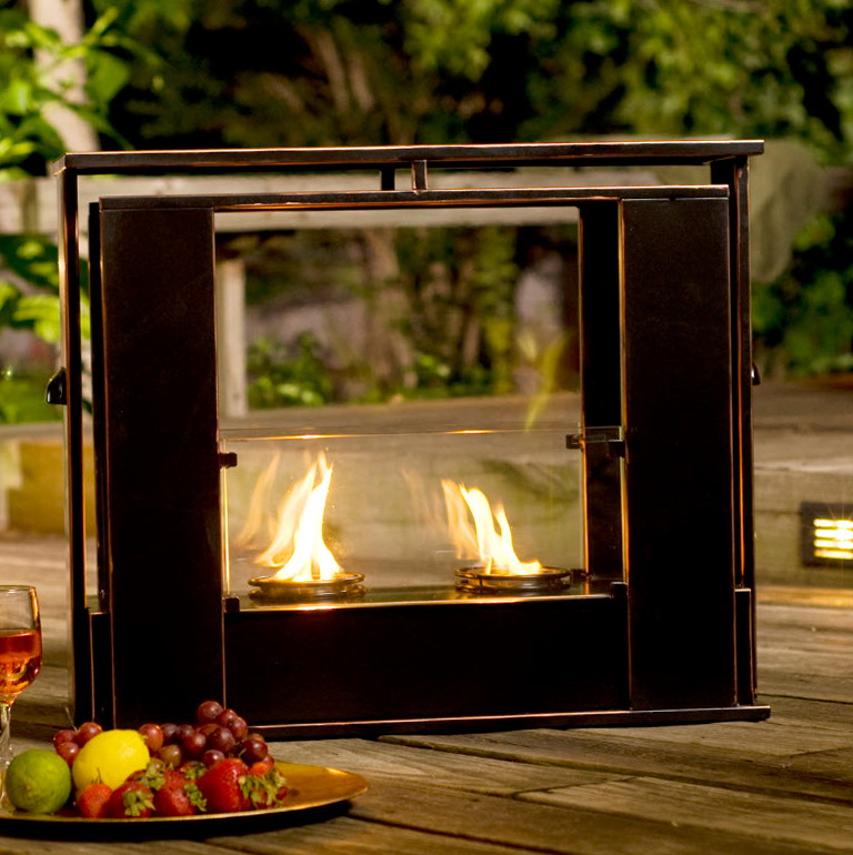 portable indoor outdoor fireplace fireplace design ideas