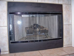 Magnetic Gas Fireplace Covers
