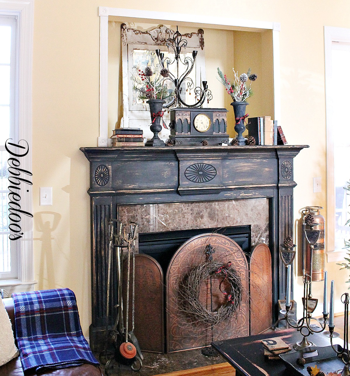 Metal Fireplace Surround Paint Fireplaces