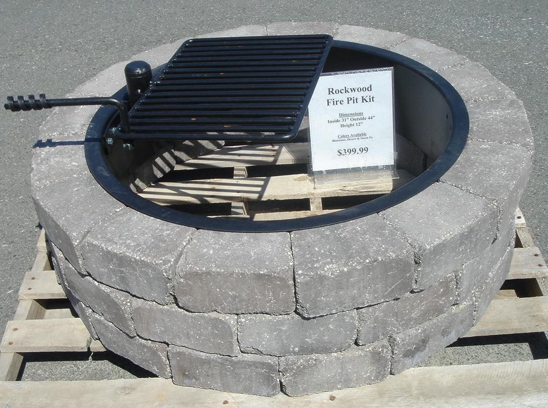 Metal Ring Fire Pit