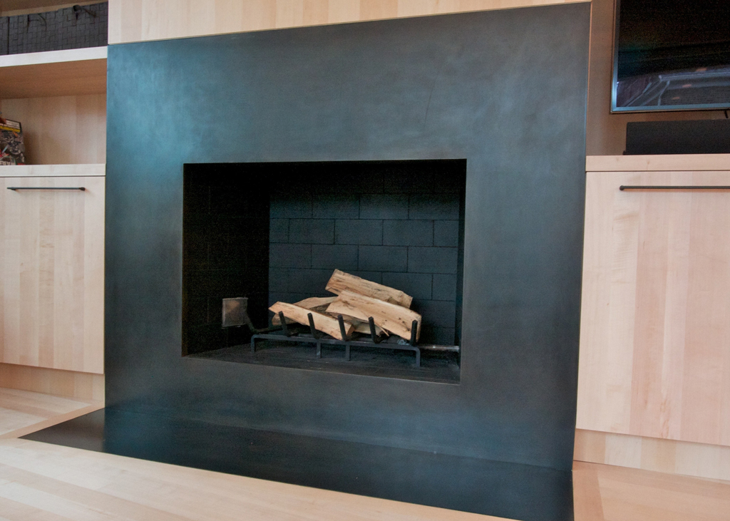 metal surround for fireplace fireplace design ideas