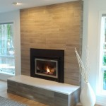 Modern Brick Fireplace Makeover